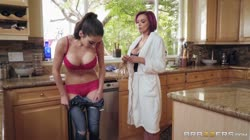 HotAndMean - Panty sniffer get's caught by hot milf