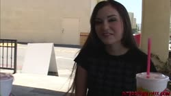 Young Sasha Grey in first ever interracial