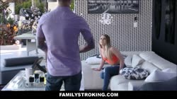 Hot Thick New Teen Step Sister Is Her Big Brothers New Fling