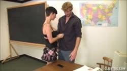 Jerking The Teacher