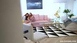 SisLovesMe - Vanna Bardot Lacy Lennon My Stepsis The Wingman