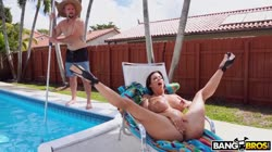 BangBros - Alexis Fawx Squirts On Pool Guy