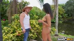 BANGBROS - Nia Nacci Seduces The Gardener