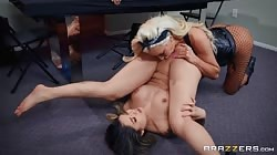 Brazzers Brenna Sparks And Nicolette Shea - Harlots Of Hell